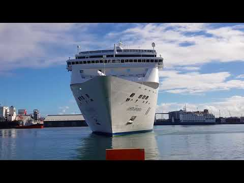 Costa Neo Riviera arrives in Mauritius