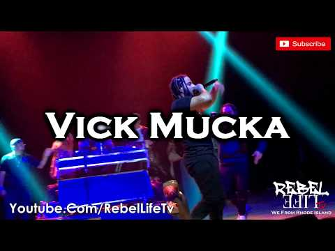 Vick Mucka Performs at the Rhode Island Music Fest at the Strand in Providence