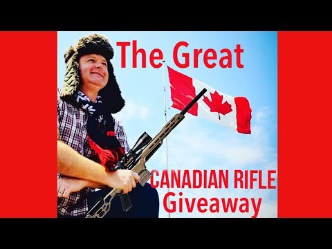 The Great Canadian Rifle Giveaway!