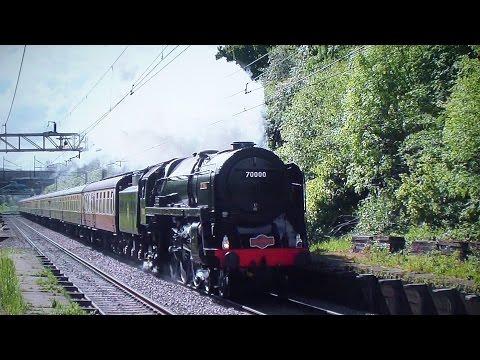 Steam Locomotives At Speed #2