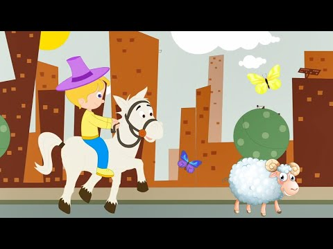 Yankee Doodle Went to Town Riding on a Pony Nursery Rhymes Fun for kids