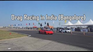 Supercars Drag Racing in India !! #61