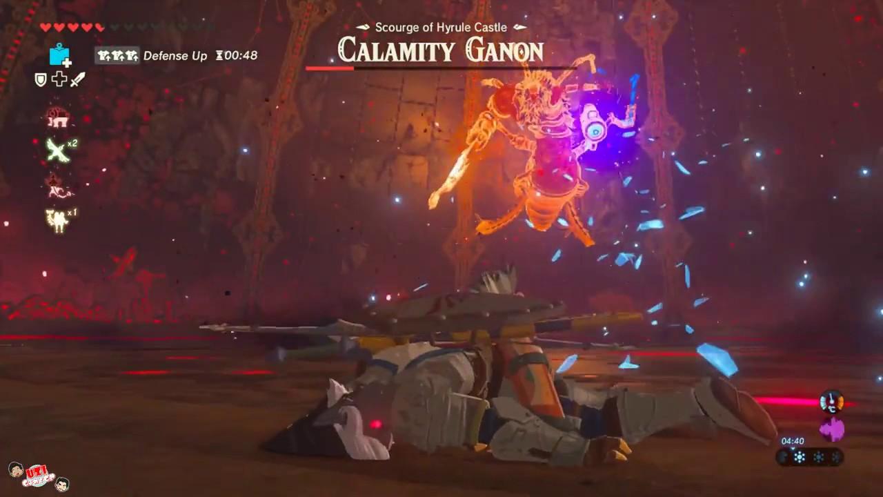 Zelda Breath Of The Wild How To Defeat Calamity Ganon Epic