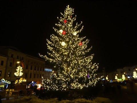 Christmas in Slovakia 2017, Christmas market in Banska Bystrica,Vianoce v Banskej Bystrici