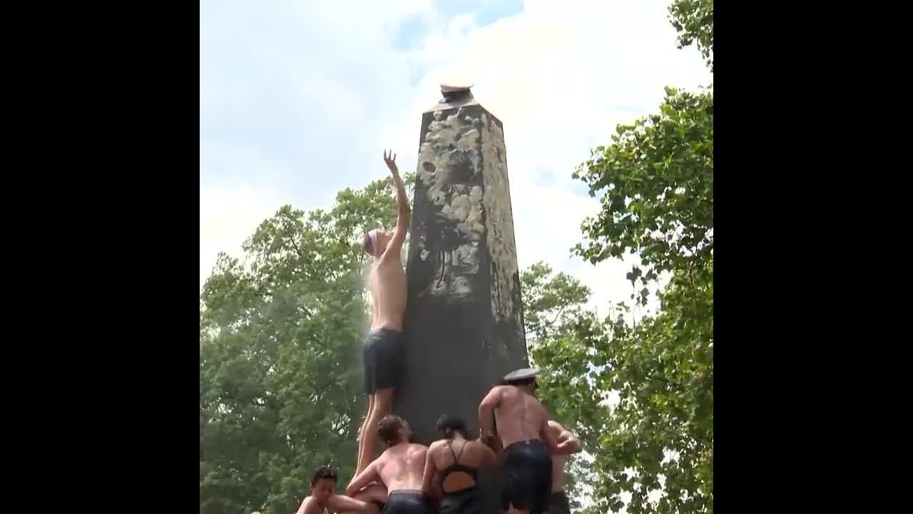 Class of 2022 completes Herndon Monument Climb