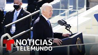 Joe Biden enfrenta el reto de reunificar el espíritu partido de todo un país | Noticias Telemundo