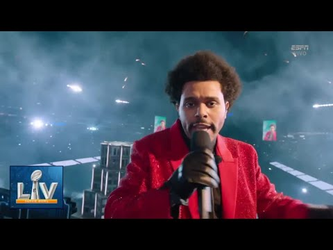 The Weeknd / Super  Bowl 2021 / Halftime Show