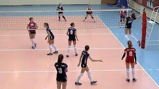 Волейбол. Нападающий удар. Республика Карелия - Санкт-Петербург-1