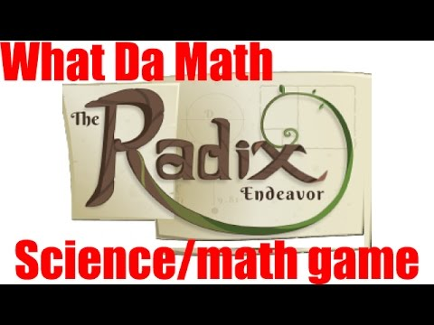 Radix Endeavor - Review - GAMES IN EDUCATION (Biology And Math)