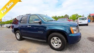 Here's a 2007 Chevrolet Tahoe LT 2WD | For Sale in 2019 - Charleston Car Videos