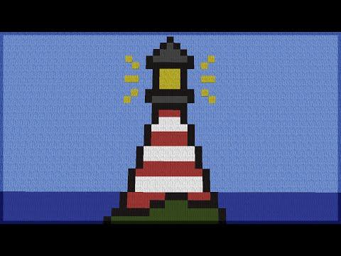 Minecraft: CONSTRUINDO SÓ PIXEL ART! 7 (BUILD BATTLE)