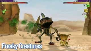 Freaky Creatures video game screenshots trailer exclusive from gamezplay.org