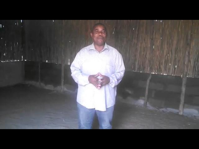 Veja como ficou nossa igreja na Africa depois de reformada.