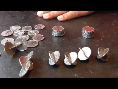 Как сделать вибрирующую блесну из монет