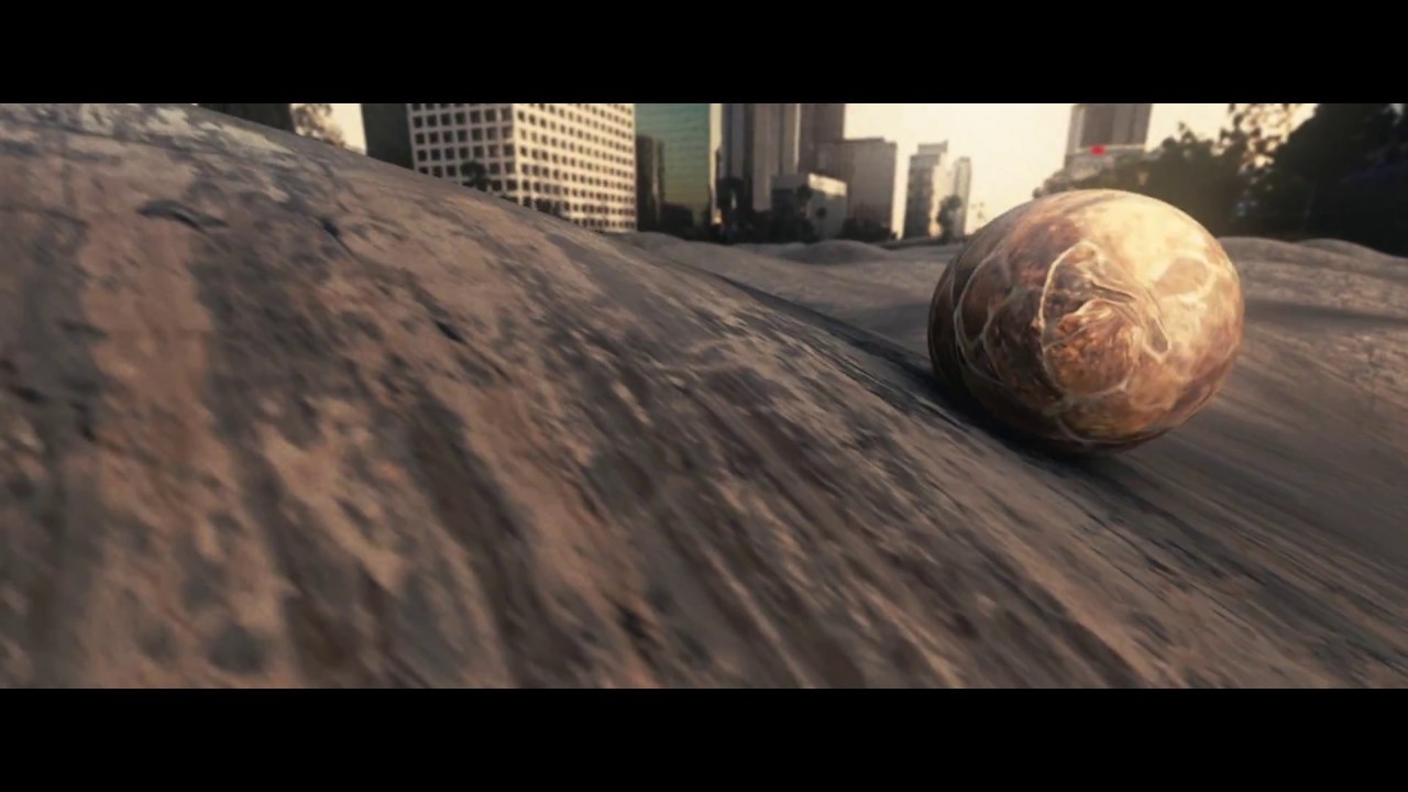 Rolling ball on surface - BB-8 - Element 3D - After effects