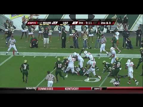 Miami Hurricanes vs South Florida Bulls 11-28-2009