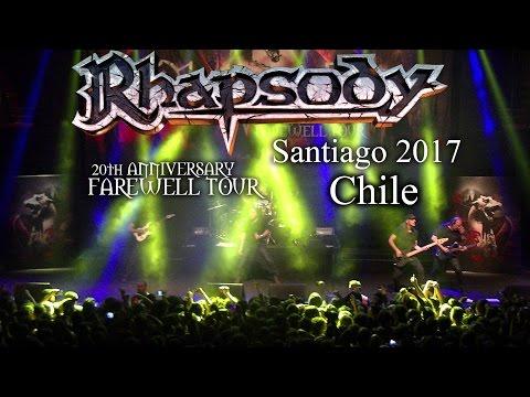 Rhapsody - Santiago Chile 2017 - 20th Anniversary Farewell Tour