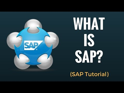 What is SAP? Why do we need ERP?