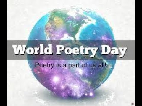 World Poetry Day march 21st