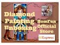 Stained Glass Woody - Diamond Painting Unboxing - Homfun #6 on Ali Express