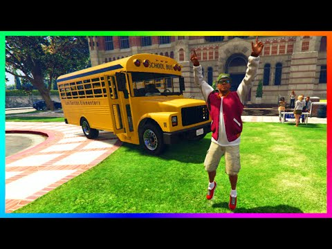 GTA 5 REAL LIFE MOD! - SCHOOL/COLLEGE ADVENTURES, NEW ACTIVITIES, INSIDE AIRPORT & STORE SHOPPING!