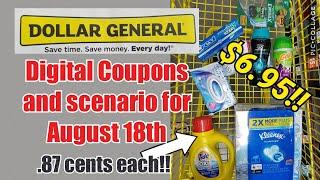 Video Dollar General Digital Coupons & Haul for Saturday, Aug.18th download MP3, 3GP, MP4, WEBM, AVI, FLV Agustus 2018