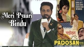 Ayushmann Khurrana's Reaction On Meri Pyaari Bindu Being Compared To Sunil Dutt's Padoson