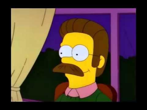 Es usted Ed Flanders? Simpsons