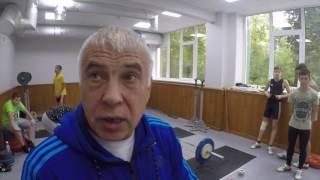 Тренировка со  Сконниковым Александром Михайловичем