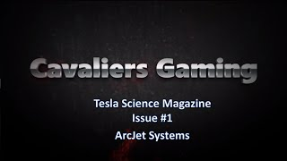 tesla science magazine issue 1 arcjet systems fallout 4