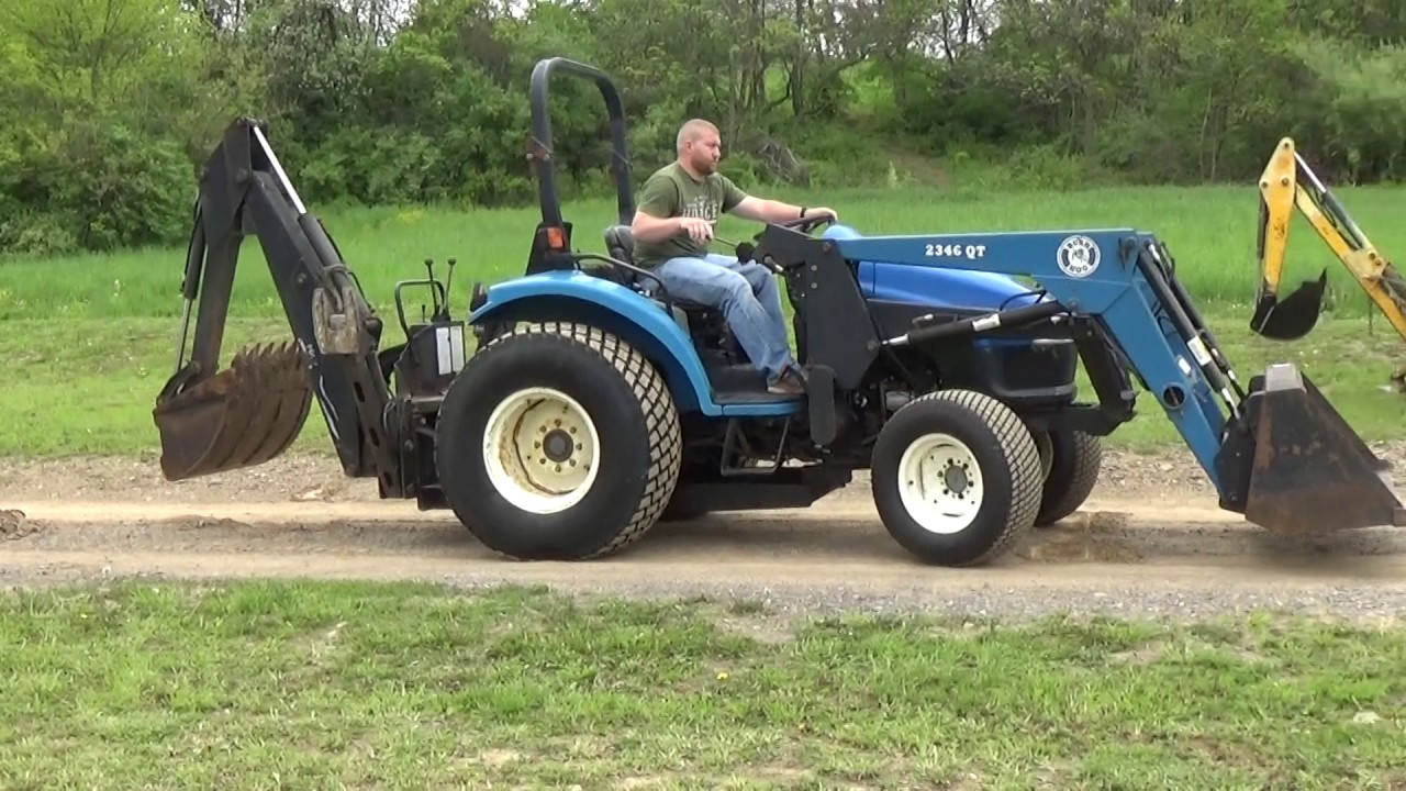 New Holland Tractor People : New holland tc d tractor with loader and backhoe