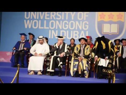 UOWD UG Graduation Ceremony - Autumn 2015 - Full Version