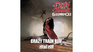 Ozzy Osbourne - Crazy train - intro + riff loop