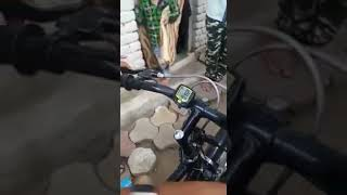 CHILD MADE A BATTERY BICYCLE THAT RUNS 50 KM PER 2RS