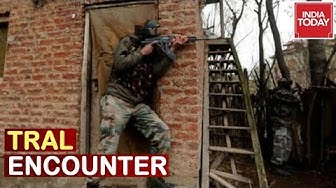 Tral Encounter : 3 Jaish Terrorists Including Top Commander Trapped