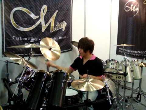 Ming Drum 2010 台北樂器展實況十六.MPG