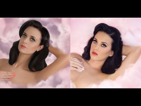 Katy Perry Hair And Makeup Tutorial (California Dream)