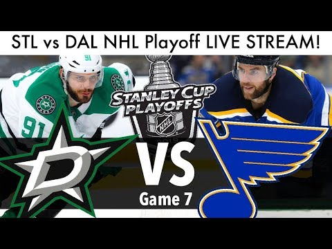 Blues Vs Stars NHL Playoff Game 7 LIVE STREAM! (Round 2 Stanley Cup Series STL/DAL Reaction Part 2)