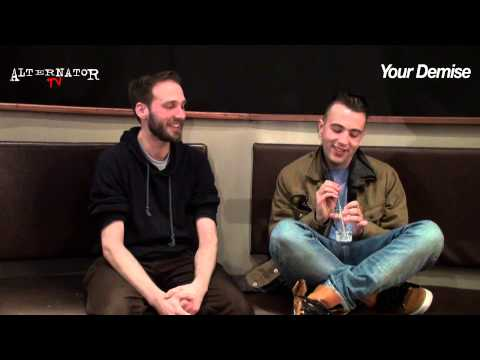 Your Demise Interview with Ed McRae for Alternator TV