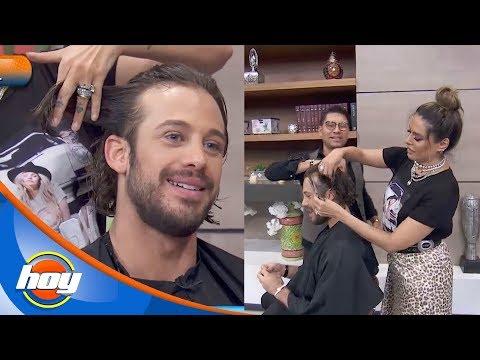 ¡Galilea Montijo le corta el cabello a Lambda García! | Hoy