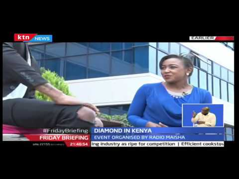 One on One with Bongo Superstar Diamond who is in Kenya courtesy of Radio Maisha