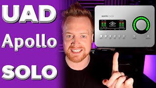 Universal Audio Apollo Solo | Unison Preamps, DSP Processing & Near Zero Latency Explained + LUNA