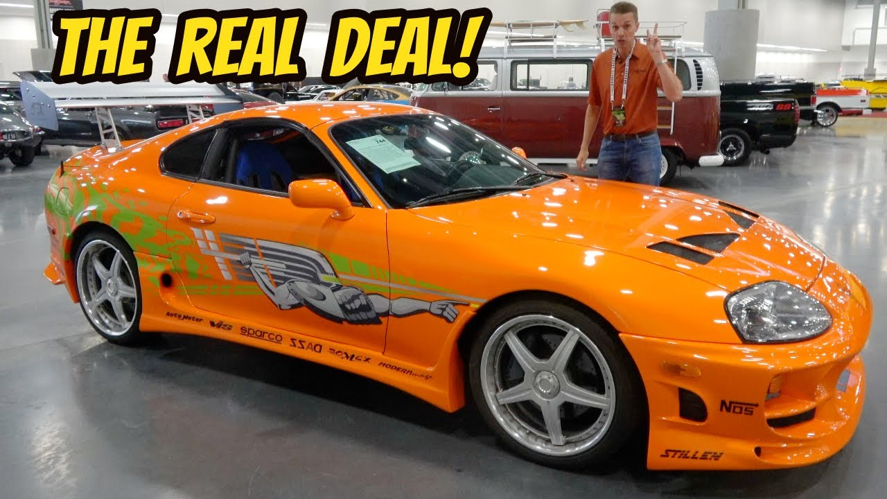 """A tour of the real """"Fast and Furious"""" Toyota Supra (Selling 2 of my cars to buy it?)"""