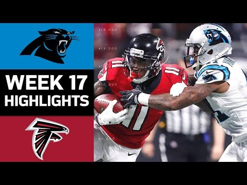 Panthers vs. Falcons | NFL Week 17 Game Highlights
