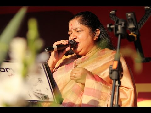 Mix - K S Chithra Live Malargalae with Alaapana Orchestra