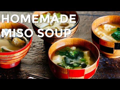 How To Make Homemade Miso Soup (Recipe) お味噌汁の作り方 (レシピ)