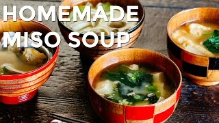 How To Make Homemade Miso Soup (Recipe) お味噌汁の作り方 (レシピ)
