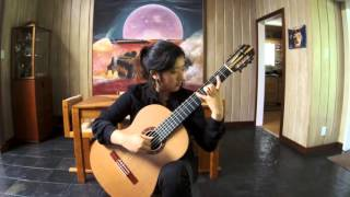 Sor, Studio in A Major, Op. 6, No. 6   :   Jennifer Kim.