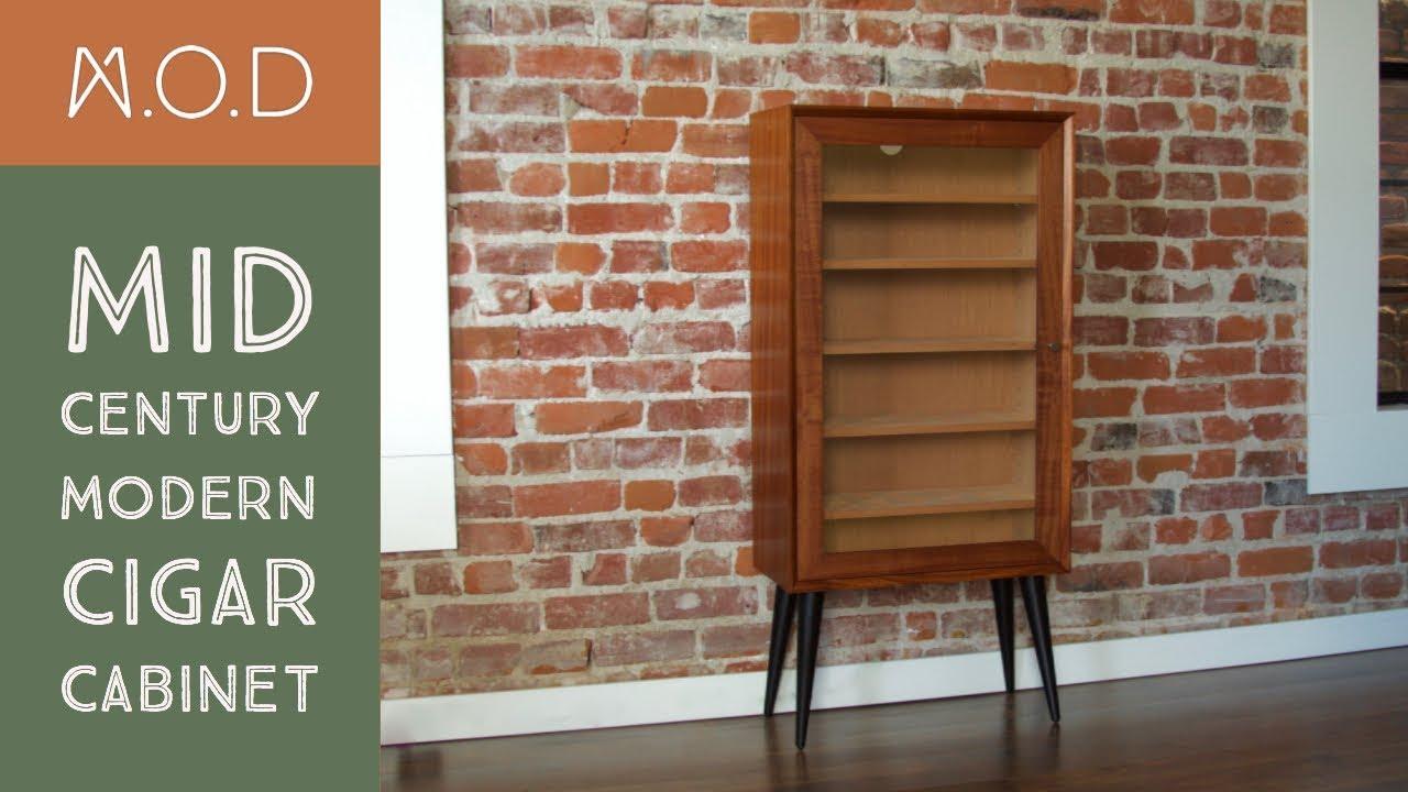 Building a Cigar cabinet - Mid Century