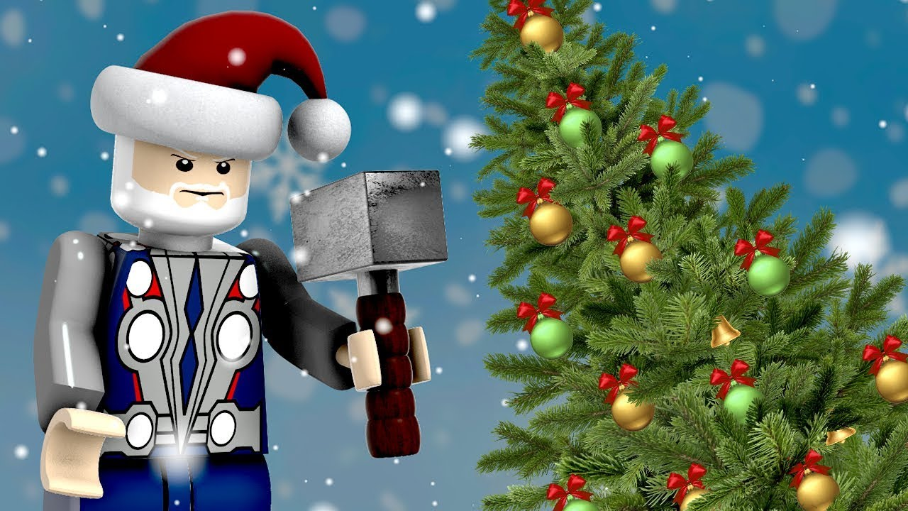 Special Christmas 3D Color Video | Color Names with Thor\'s Hammer ...